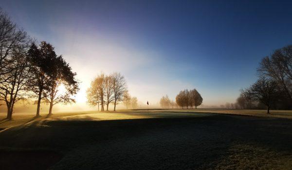 albertslund golfklub vinter 2020 Morgenlys bane