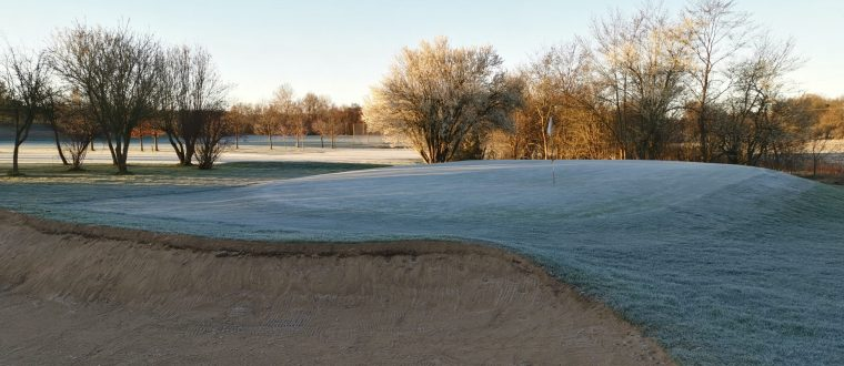 Ved frost er banen lukket