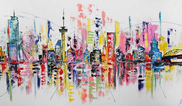 skyline-rotterdam kunst